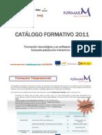 Catálogo formativo 2011 Formaem Open Training