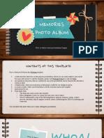 Memories Photo Album by Slidesgo.pptx