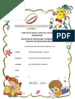 Actividad de Investigación Formativa - IIIU