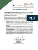 GER-OT-04 POLITICA RESPONSABILIDAD SOCIAL