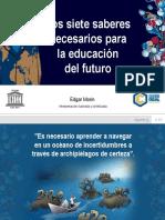 04_SES B -Los 7 saberes de la educación del futuro - Edgar Morin