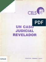 CELS Un Caso Judicial Revelador
