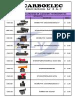 ACCESORIOS AMOLADORAS CATALOGO PRECIOS PDF
