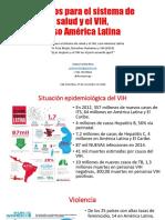Desafíos Del VIH y El Sistema de Salud América Latina