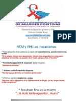Violencia Contra Las Mujeres y VIH OCT 2018