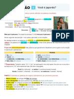 Licao 1. Presente Simples AO VIVO