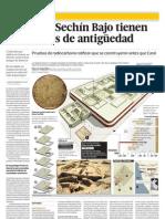 Restos de Sechín Bajo tienen 5,500 años de antiguedad