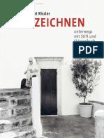 Albrecht Rissler, Unterwegs mit Stift und Skizzenbuch