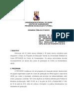 CHAMADA PÚBLICA 2 PET-UECE 2019