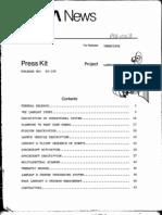 Landsat D Press Kit