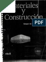 Materiales y Construcción (Gaspar de la Garza)
