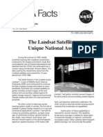 NASA Facts the Landsat Satellites Unique National Assets