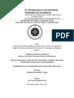 Propuesta de política pública y gestión urbana_ hacia una regulación integral de los fraccionamientos cerrados en el municipio de Zapopan.pdf