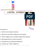 3-L'ostéointegration