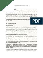 ESTATUTO DEL PRISIONERO DE GUERRA