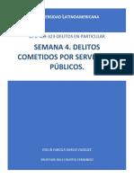 SEMANA 4. DELITOS COMETIDOS POR SERVIDORES PÚBLICOS