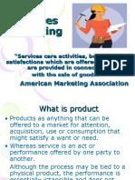 services marketing mms sem 2