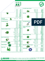 Ecosafe PPR-Official Pricelist
