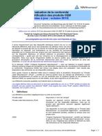 Évaluation de la conformité Certification des produits OEM (mise à jour _ octobre 2010)