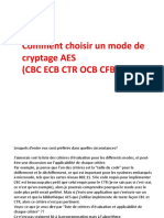 Comment choisir un mode AES.pptx