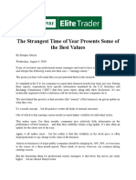 24 - The Strangest Time of Year Presents Some of the Best Values (Pdf)