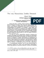 4 - Miguel Reale - v. 72, n. 1 (1977) Para uma hermenêutica jurídica estrutural.pdf