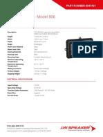 Part 0547431 - JW Speaker