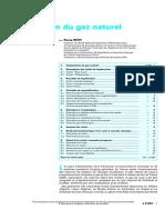 Liquéfaction du gaz naturel