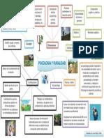 Mapa mental - Psicología y ruralidad