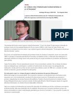 Jornal Opção - Entrevista de João Cezar de Castro Rocha sobre guerra cultural bolsonarista