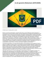 Christian Lynch - A utopia reacionária do governo Bolsonaro (2018-2020)