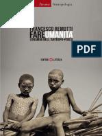Remotti, Francesco - Fare umanità _ i drammi dell'antropo-poiesi (2013, Laterza) - libgen.lc