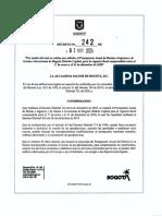 Decreto 242 de 2020 ADICION DONATON