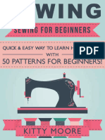 Sewing_ Sewing For Beginners - Quick & Easy Way To Learn How To Sew With 50 Patterns for Beginners! ( PDFDrive ).epub