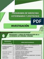 Investigación en el Programa MVZ