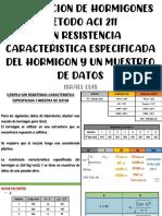 Dosificación de Hormigones - Con resistencia característica específica y muestra de datos (4to Caso)-1