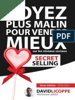 Secret Selling  Soyez plus malin pour vendre mieux sur les réseaux sociaux - David Licoppe.pdf