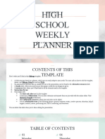 Minimalist HS Weekly Planner _ by Slidesgo
