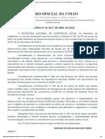 PORTARIA Nº 54, DE 1º DE ABRIL DE 2020 - PORTARIA Nº 54, DE 1º DE ABRIL DE 2020 - DOU - Imprensa Nacional