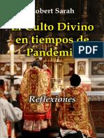 1 El Culto Divino en Tiempos de Pandemia - Cardenal Sarah