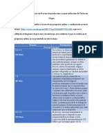 Descripción del Diagrama de Proceso de producción y comercialización de Tortas en Utopía