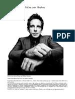 Entrevista a Ben Stiller para Playboy