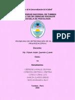 Programa de Intervención en el Ambito Laboral