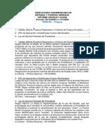 Informe Uruguay 43-2020