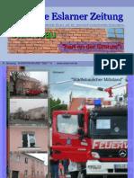 """Die Erste Eslarner Zeitung, 2te Sonderausgabe 2011, Thema """"Städtebauliches Entwicklungskonzept - SEK"""""""