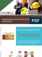 Modulo 5 ADMINISTRACIÓN DE RELACIONES LABORALES