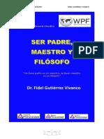 LIBRO PADRE, MAESTRO Y  FILOSOFO