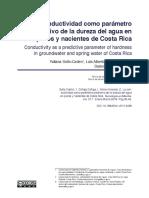CONDUCTIVIDAD COMO PARAMETRO PREDICTIVO  DUREZA DEL AGUA.pdf