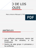 CLASE 23. INOSILICATOS CADENA DOBLE ANFIBOLES