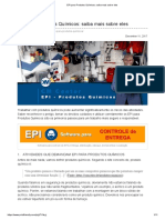 EPI para Produtos Químicos_ saiba mais sobre eles
